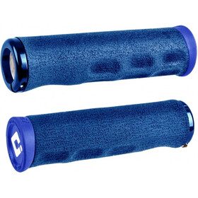 ODI F-1 Series Dread Lock Lock-On 2.1 MTB Grips blue